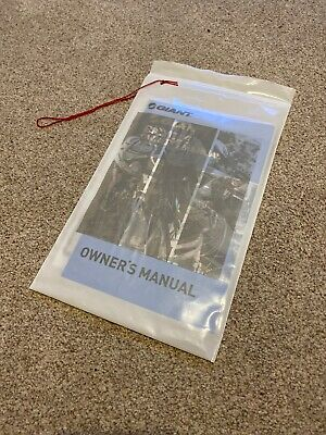 Giant Bicycle Owners Manual 2013