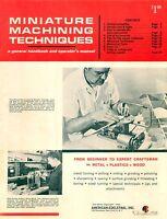 Unimat Lathe Db200 Manual, Parts List, Machining Techniques, Pdf Computer Format