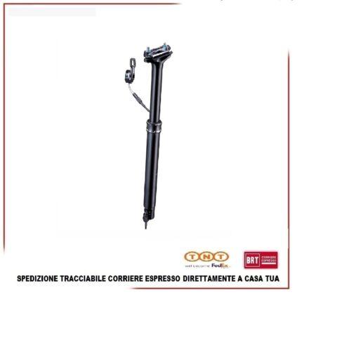 Reggisella Telescopico Tranzx 27.2x390mm Tubo Sella Escursione 105mm