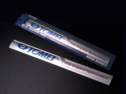 TOMEI METAL ORNAMENT PLATE  For SKYLINE GT-R BNR32 BCNR33 BNR34 RB26 191169