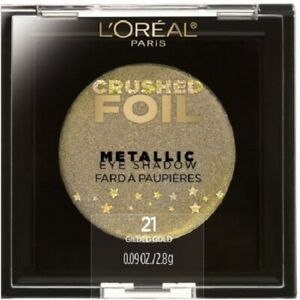L-039-oreal-Crushed-Foil-Metallic-Collection-Fards-a-Paupieres-21-Glided-Gold