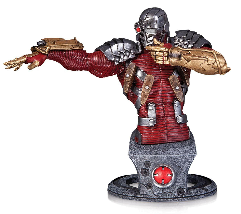 DC BATMAN Statua SUPER cattivi DEADSHOT Busto