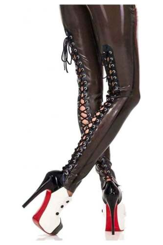 gomma Secondi M £ 75 Blk 162 R1465 Bambam in lattice Leggings De Ville Rrp fqw5zw0