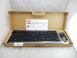 Lenovo Essential Wireless Keyboard and Mouse Combo US English