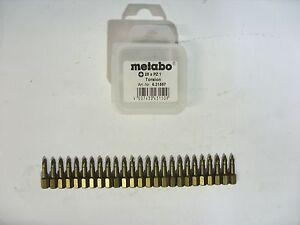 Metabo-Bit-Set-Bit-Sortiment-Bit-Box-Bits-Bohrersortiment-25-Teile-Art-6-31557