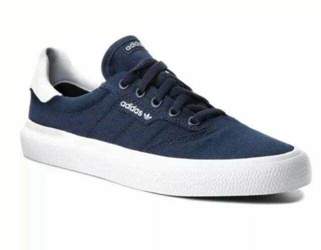 adidas Mens 10 3mc Navy Blue White