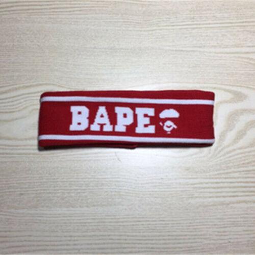 Headband For Men and Women Bathing Elastic A Bathing Ape BAPE Sport Head Band