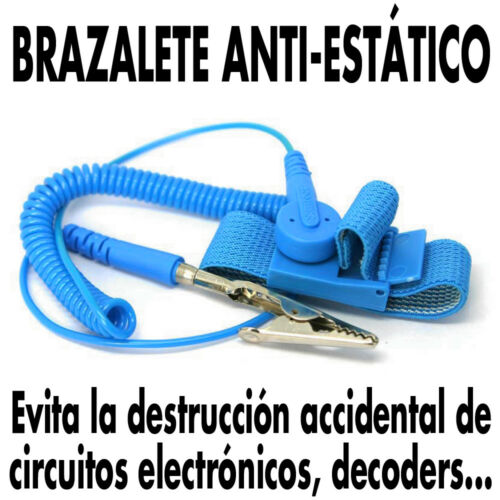 Anti-Static protection Brazalete Anti-Estático NUEVO !! Universal