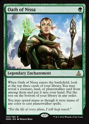Oath of Nissa x4 Magic the Gathering 4x Oath of the Gatewatch mtg card lot rare