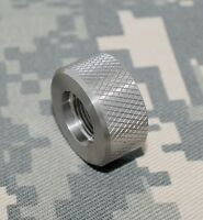 Stainless Steel Bull Barrel .920 Knurled Thread Protector 1/2-28 10/22 Ruger Usa