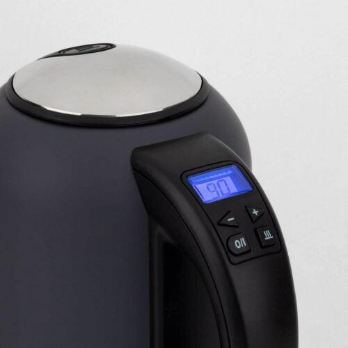 H.Koenig Wasser-Kocher 40°C bis 100°C 1.7 L Digital Display Warmhalten 2200W