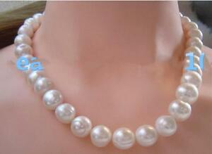 New-18-034-AAA-11-12-MM-SOUTH-SEA-NATURAL-White-PEARL-NECKLACE-14K-GOLD-CLASP