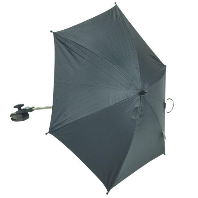 Baby Sonnenschirm kompatibel mit Teutonia Mistral grau