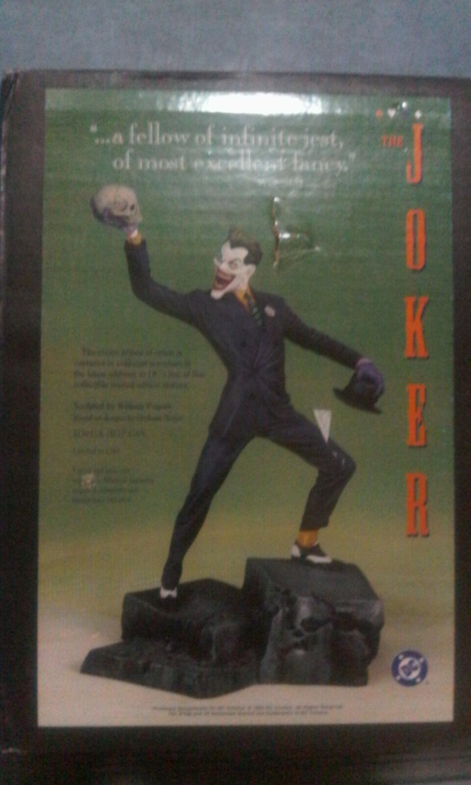 DC Direct Batman Joker 1995 Full Talla Statue Menta 1151 4650