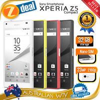 (new Sealed Box) Sony Xperia Z5 Compact E5823 4g Lte Unlocked Phone + Oz Wty