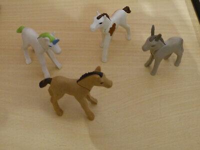 Neu Playmobil Ergänzungen /& Zubehör 6263 Pferdefohlen mit Futter