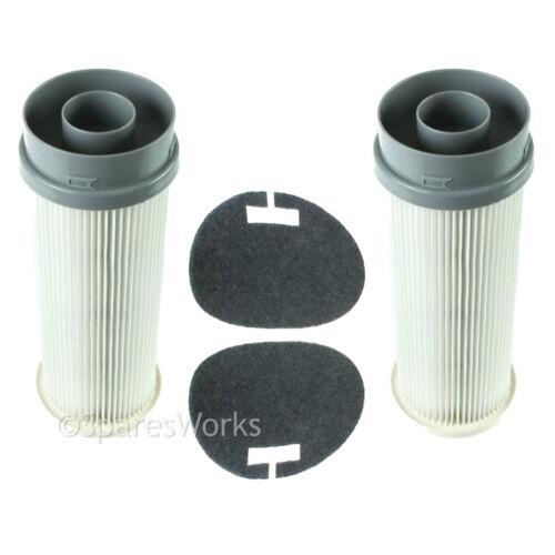2 x Pre /& Post Motor HEPA Filters for VAX Essentials VEU-11 VEU-102 Pet VEU-21