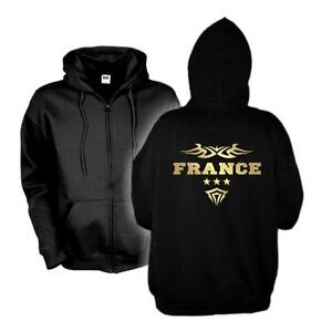 21e wms06 S con cappuccio felpa Country Shirt con Francia cappuccio Francia Giacca 6xl Felpa O7Hw1H