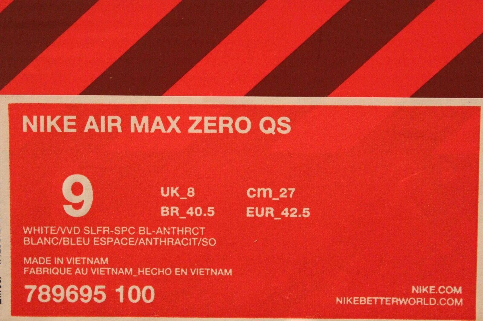 neue männer nike air max null - männer neue uns größe 9 laufschuhe d04311