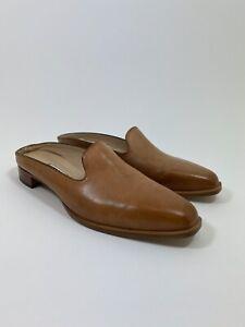 Manolo Blahnik Loafer Mule in Tan Size 40