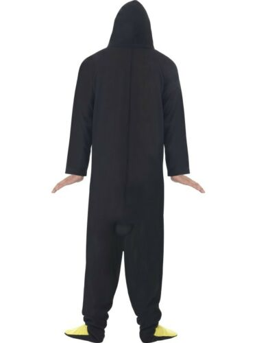Adult Mens Penguin Costume Christmas Xmas Fancy Dress Costume Outfit