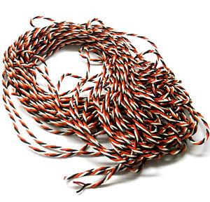 C1304-1-Rc-Futaba-Extension-Cable-Trenzado-2-M-200-cm-26AWG-2-M