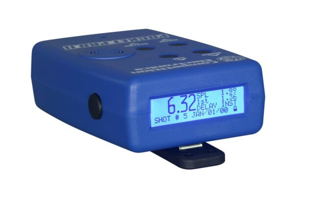 Competition Electronics Pocket Pro II Shot Timer Blue CEI-4700