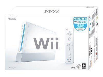 Wii Hardware System, Wii Sports Package, 2 Wii Remot Wii Bundle