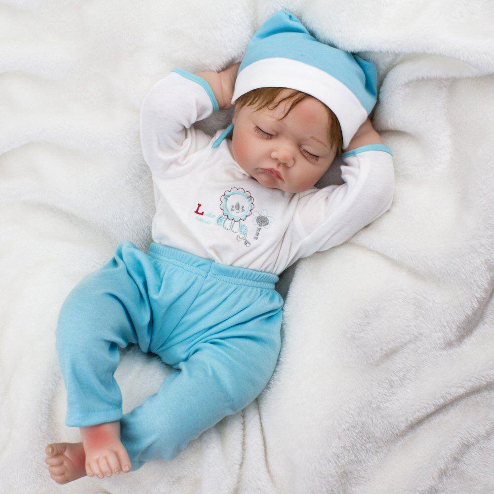 22  realista Muñeca Bebé Niño Reborn Realista Juguete de Navidad recién bebe hecho a mano