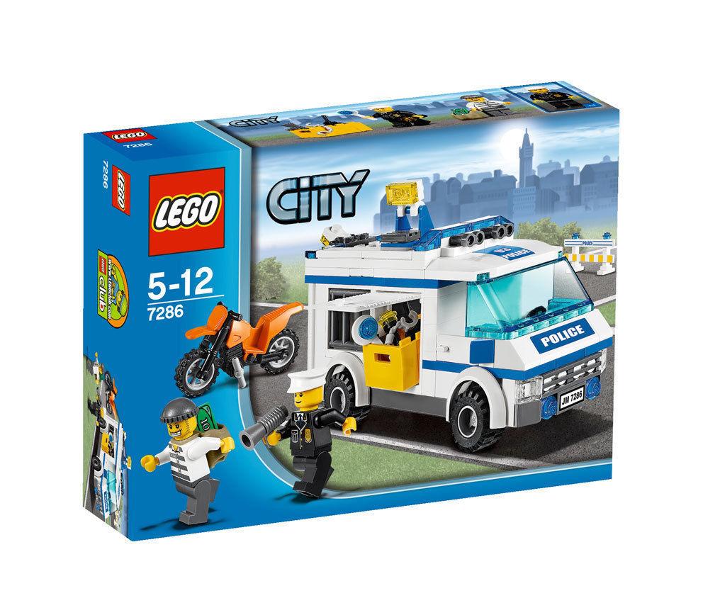LEGO City Gefangenentransporter (7286), neu und OVP, ungeöffnet