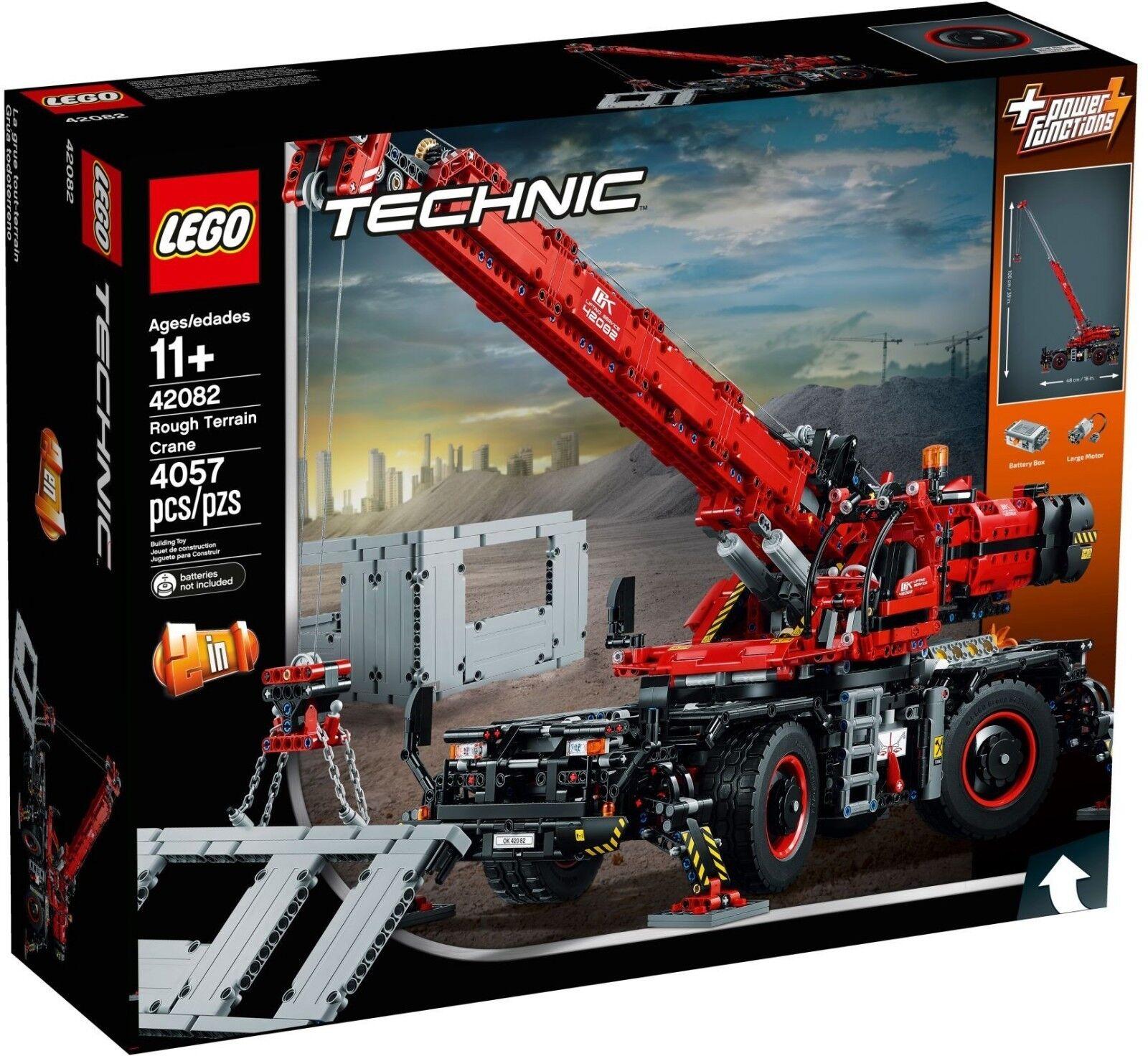 Lego Technic Technic Technic - 42082 - La grue tout-terrain - NEUF et Scellé eb8ddf