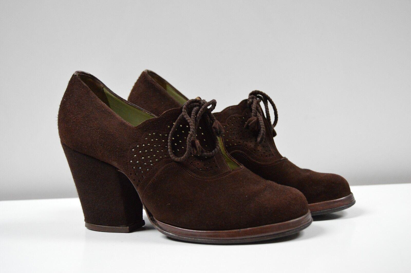 Plataforma pumps paraíso paraíso paraíso zapato emperador & Ciel 30er True vintage 30´s schnürzapatos  Ven a elegir tu propio estilo deportivo.