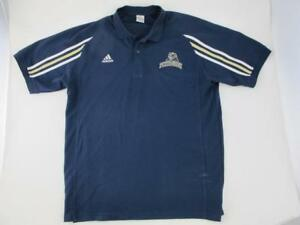 505ee99eadd4 Adidas PITT PANTHERS Football Mens Large Coaches Team Authentic Blue ...