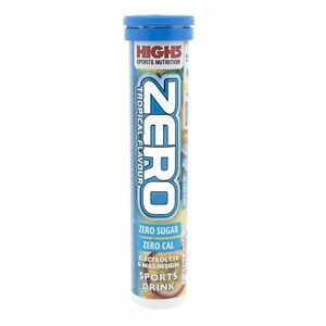 High 5 Zero Tropical Tablet Tubes Pack of 8
