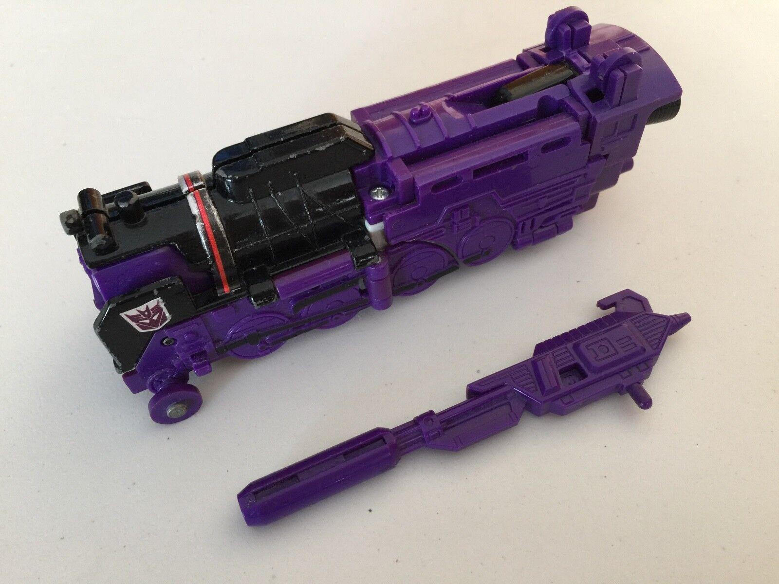 Transformers G1 1985 ASTredRAIN loose figure japan takara triple changer