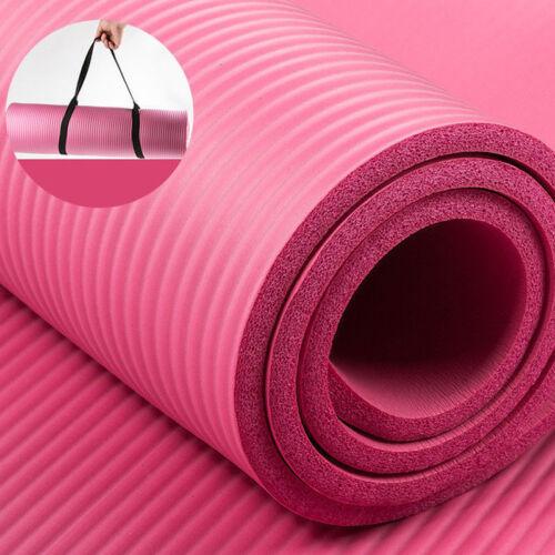 Yogamatte Fitnessmatte Gymnastikmatte Pilates Sportmatte Bodenmatte Turnmatte UU