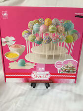Good Cook Sweet Creations White Cupcake and CakePop 2 Tier Display Stand NIB