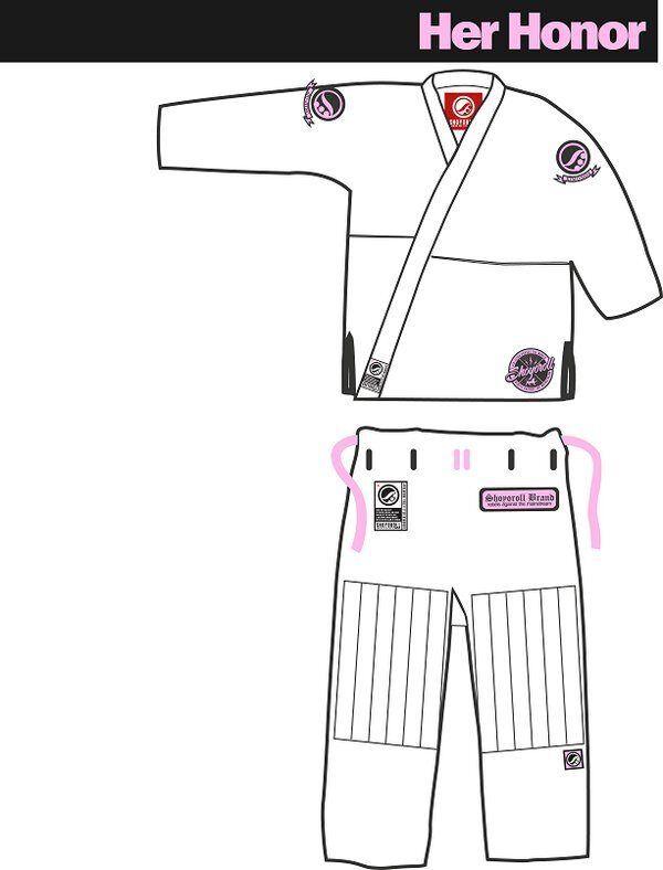 Shoygoldll Her Honor Batch 15 Barely Used gi kimono bjj jiujitsu