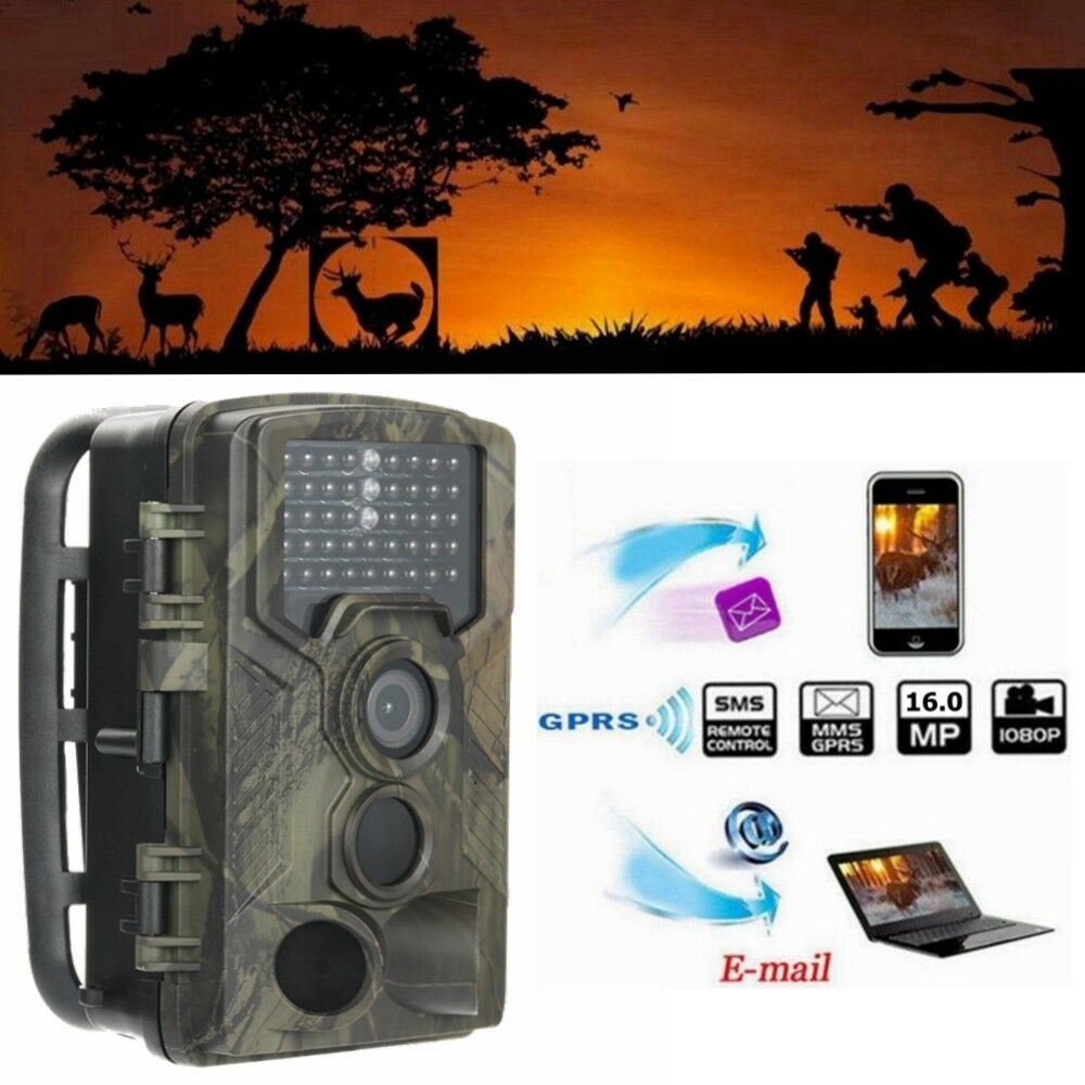 HC-800M 16MP 2G MMS GPRS HD 1080P Video Wildlife  IR Trail Hunting Camera  online-shop