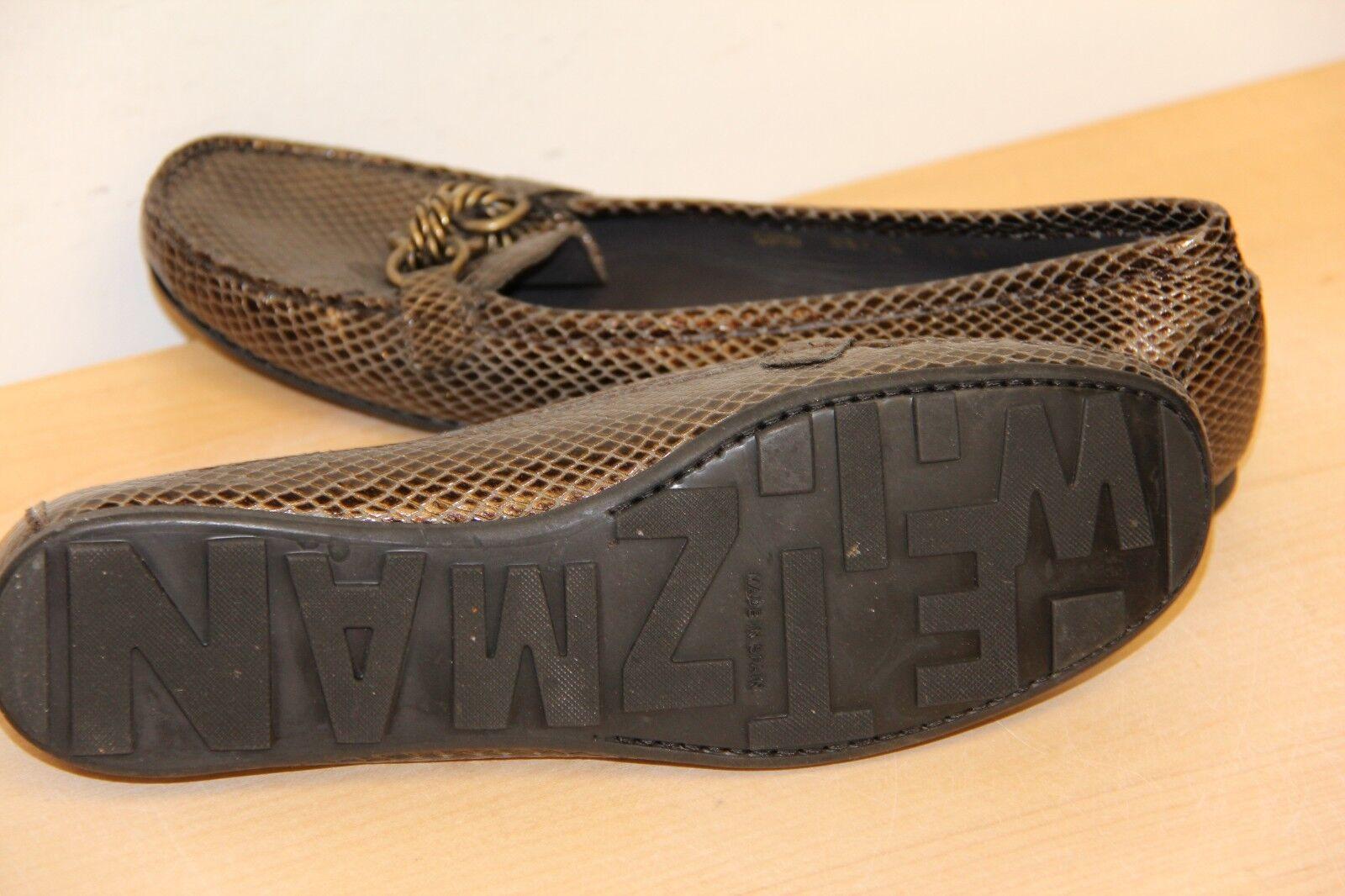 NIB Stuart Weitzman 7.5 FUELCHAIN Rootbeer Cobrette Loafers Schuhes sz 7.5 Weitzman f29b07