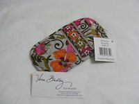 Vera Bradley Tea Garden Eye Double Eyeglasses Sunglasses Case For Purse Tote