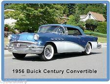 1956 Buick Century Convertible  Refrigerator / Tool Box Magnet Gift Card Insert