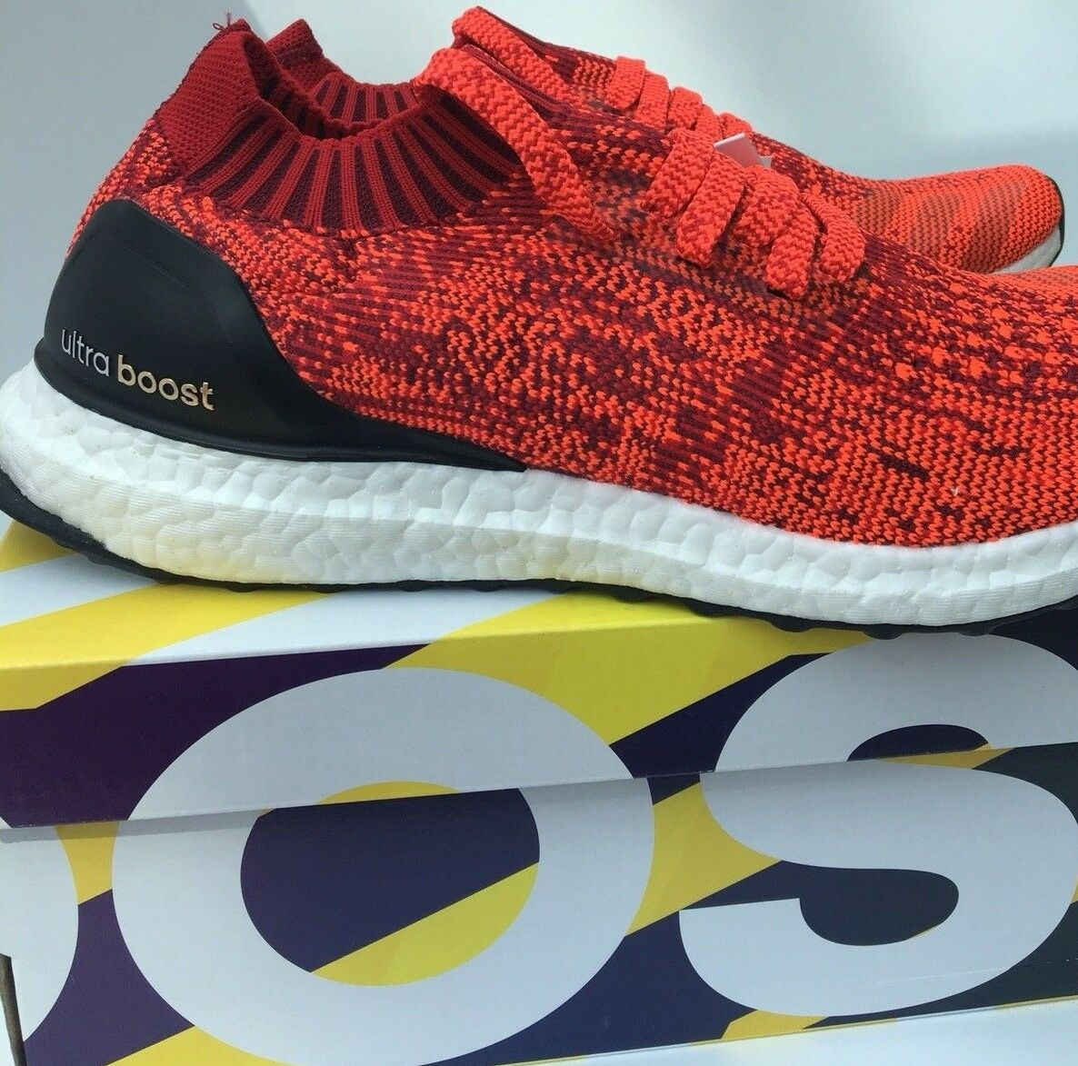 Adidas Ultra Spinta Uncaged M Acceso red Core black BB3899 shoes da Corsa