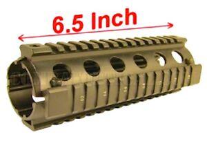 223 5 56 quad rail handguard 6 5 inch carbine length 2 piece drop in