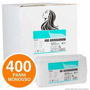 400-Asciugamani-Monouso-per-Parrucchiere-Estetista-Altissima-qualita-66-gr-mq