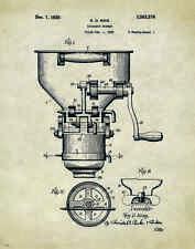 Doughnut Donut Patent Poster Art Print 11x14 Cutter Maker Fryer Pan Shop PAT126