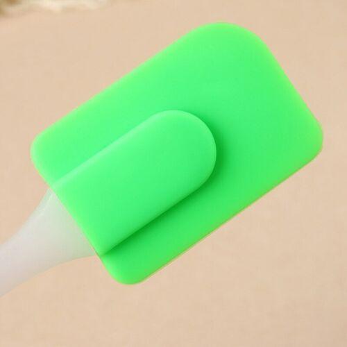 Kitchen Silicone Cake Spatula Mixing Scraper Brush Cake Butter Utensil Tools