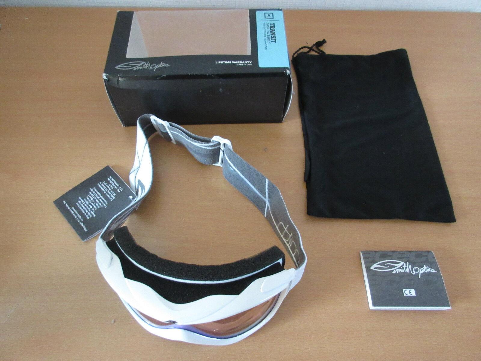 SMITH OPTICS Skibrille Transit Weiß M006467ME99ZF-