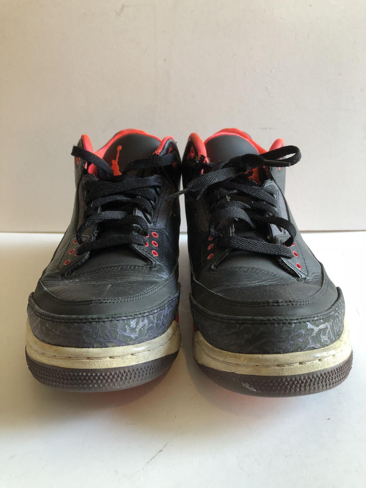 Men's Air Jordan Crimson 3 III Black Sneakers 136064-005 Comfortable Seasonal price cuts, discount benefits