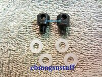 Lot Of 2 Grovtec 1/4 Inch Sling Swivel Mounts For Mossberg 500 Front W 4 Washers